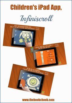 The Book Chook: Children's iPad App, Infiniscroll #iOSedapp