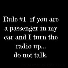 ❤ NO RULE #1 IS EVERY TIME YOU CHANGE THE SONG YOU OWE ME A KISS. HAHAHAHAHA THATS THE DEAL MISSY AND YOU KNOW IT YOUNG LADY!