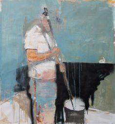 "Saatchi Art Artist christos tsimaris; Painting, ""how to paint a wall ,youtube"" #art"