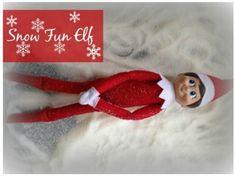 Snow Fun Elf! Creative and FUN Elf on the Shelf Ideas for Christmas!