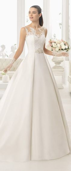 Wedding Dress by Aire Barcelona 2017