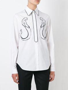 Nº21 mermaid print shirt