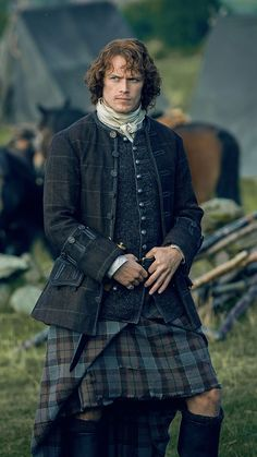 Sam Heughan as Jamie Fraser | Outlander