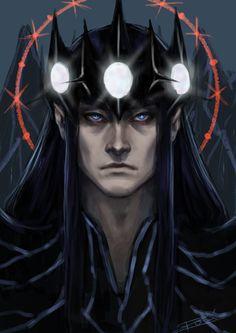 Morgoth doodle by rosythorns on deviantART