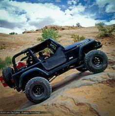 Jeep TJ Rubicon long arm lift