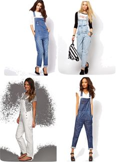 SUMMER TREND 2013: BRINGING BACK THE OVERALLS Everyone that knows me knows I love overalls!