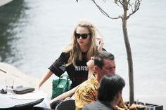 Cara in Cannes, France today.
