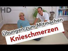 Knieschmerzen Übungen zum Mitmachen || Knieübungen gegen Schmerzen im Knie - YouTube