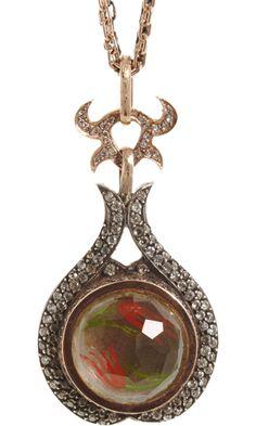 Sevan Bicakci: Citrine & Diamond Necklace