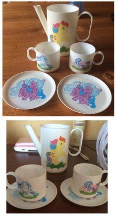 My Little Pony tea set ...