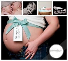 Maternity and Infant Photography Idea