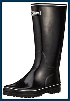 Chuva Damengummistiefel Chuva Ivon CHYVONSW Damen Stiefel, schwarz(schwarz) EU 36 - Stiefel für frauen (*Partner-Link)