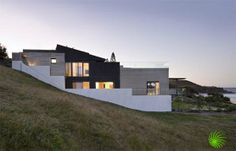 Sloping down the hill. This looks like such a peaceful property.