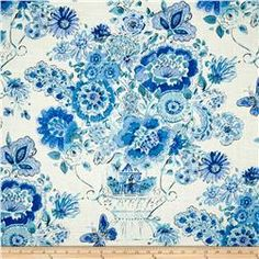 Waverly Blissful Bouquet Blend Blueberry