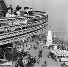 Matsuya - Roof Playground 1950's, Tokyo Asakusa