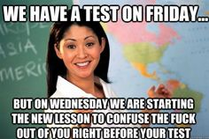 College Memes, Final Exams Edition: Guest Starring Effie Trinket ...