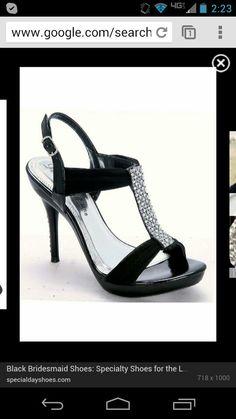 Bridesmaid heels