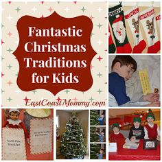 Fantastic Christmas Traditions for Kids {and they are easy, inexpensive, and fun!}