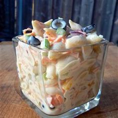 Macaroni Salad -  This macaroni salad is sweet.  Once you try it you won't eat another kind