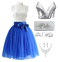 Cinderella by koryd on Polyvore featuring polyvore, fashion, style, Oscar de la Renta, Chicwish, Dolce&Gabbana, Disney and clothing