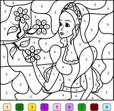 coloriage magique moyen