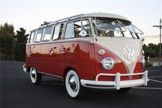 1963 VW Bus 23 Window