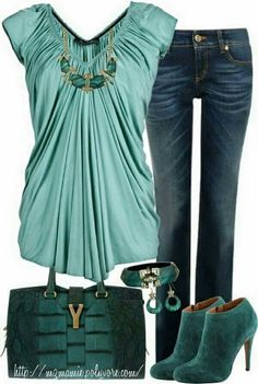 Love this outfit but hate the shoes and purse...