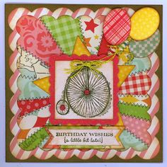 """created by Carlene Prichard: ChatterboxCreations-1.blogspot.com:"""" Belated Wishes Little Niece #1's January Birthday!"""" - 1/12/15."""