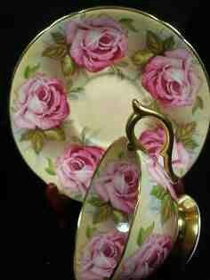 AYNSLEY Cabinet Tea cup & saucer