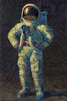 """Feelin´ Fine by Alan Bean LIMITED EDITION CANVAS Image size: 18""""w x 27""""h."""