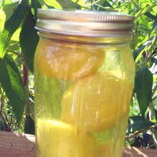 Lemon Ginger Infused Vodka