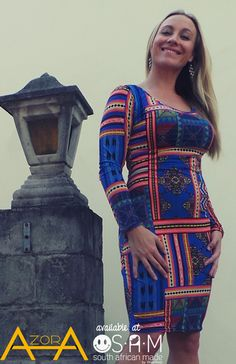 SAM-South African Made store. #SAM #SouthAfricanMade #localDesigners #Fashion #shop #azora #midiDress #tribalPrint #Dress www.samstoresa.co.za Tribal Prints, African, My Style, Store, Jeans, Clothes, Shopping, Dresses, Fashion