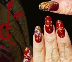 #butterflynailart #butterfly  #nailart