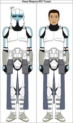Heavy Weapons ARC Trooper by MarcusStarkiller