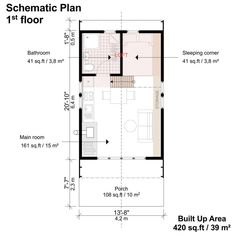 Go to this site appraised shed building plans Building Costs, Shed Building Plans, Diy Shed Plans, Cabin Plans, Building Ideas, House Plan With Loft, Small House Plans, House Floor Plans, Tiny House Blog