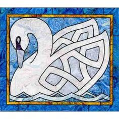 Celtic Swan Wall Hanging Quilt Pattern