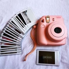 pink camera and photo image - Instax Camera - ideas of Instax Camera. Trending Instax Camera for sales. - pink camera and photo image Polaroid Instax, Instax Mini Camera, Instax Mini 8, Fujifilm Instax Mini, Mini 8 Camera, Instax Film, Appareil Photo Reflex, Dslr Photography Tips, Better Photography