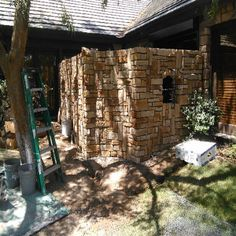 Stone Wall Tile Installation, Carpet Tiles, Firewood, Stone, Wall, Woodburning, Rock, Carpet Squares, Stones