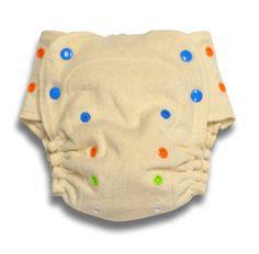 BabyKicks Organic Fitted Diaper (one free insert)