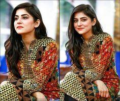 Sanam Baloch. Pakistani Actress Pakistani Actress, Trousers, Sari, Actresses, Celebrities, Beauty, Fashion, Trouser Pants, Saree