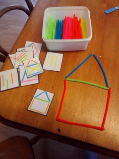 Best 12 prepare toddler for handwriting activities. You make holes and then kids. - Best 12 prepare toddler for handwriting activities. You make holes and then kids… Best 12 prepare toddler for handwriting activities. You make holes and then kids…, Preschool Learning Activities, Infant Activities, Preschool Activities, Kids Learning, Dinosaur Activities, Math Games For Preschoolers, Day Care Activities, Life Skills Activities, Cutting Activities
