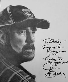 Bobby Singer drawing- It was an honor meeting him!