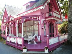 Pink House   LOVE this!