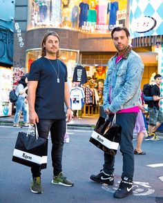 "6,085 gilla-markeringar, 19 kommentarer - Harajuku Japan (@tokyofashion) på Instagram: ""Swedish DJs @Axwell & @Ingrosso (aka @AxwellIngrosso) on the street in Harajuku. Went around…"""