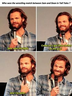 I just love the senses of humor all the SPN boys have. Sam Dean, Castiel, Fangirl, And So It Begins, Supernatural Memes, Supernatural Drawings, Supernatural Tattoo, Supernatural Wallpaper, Life Is Hard
