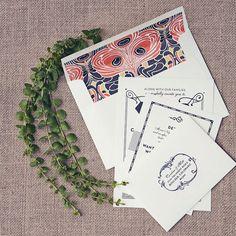 Gatsby wedding invitations by hellotenfold on Etsy, $6.00