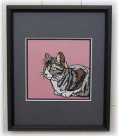 猫の切り絵ですインチ 254×203mm |ハンドメイド、手作り、手仕事品の通販・販売・購入ならCreema。