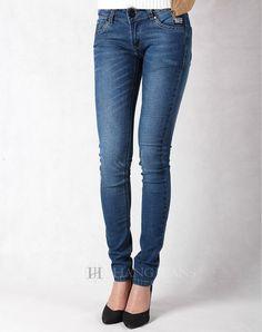 Hằng Jeans - quần jeans nữ xanh mài tôn dáng 182-1. Giá: 399.000đ
