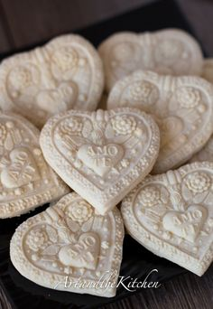 (Canada) Springerle Cookies made with beautiful cookie molds.