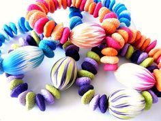 Yummy, yummy bracelets by Bebe Clay...